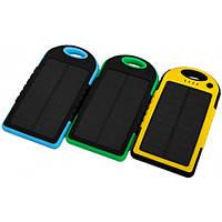 Аккумулятор батарея Power bank с солнечной панелью