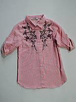 Рубашка для девочки 5,6,7,8,9,10,11,12 лет