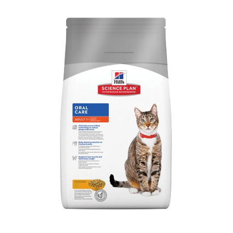 Сухой корм Hills Science Plan™ Feline Adult Oral Care со вкусом курицы 5 кг