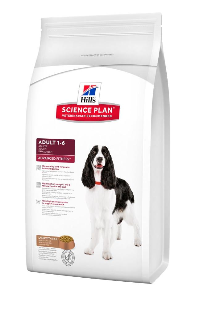 Сухой корм Hills Science Plan™ Canine Adult Advanced Fitness™  со вкусом ягненка и риса 3 кг