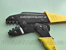 Инструмент обжимной HS-03B для ножевых (плоских) клемм без изоляции