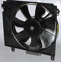 Вентилятор охлаждения радиатора Lanos основной MCH в сборе