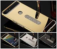 Чехол бампер для Huawei Nexus 6P / Nexus 7 зеркальный