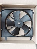 Вентилятор охлаждения радиатора Lanos основной NS MOTOR в сборе