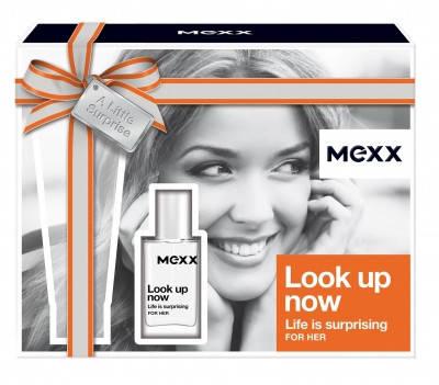 Набор  Mexx Look Up Now Woman (туалетная вода 15мл+лосьон для тела 50мл)