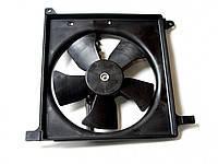 Вентилятор охлаждения радиатора Lanos/Aveo Черкассы основной (голый)