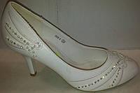 Туфли женские белые р35 CAMIDY 908-9 SADI