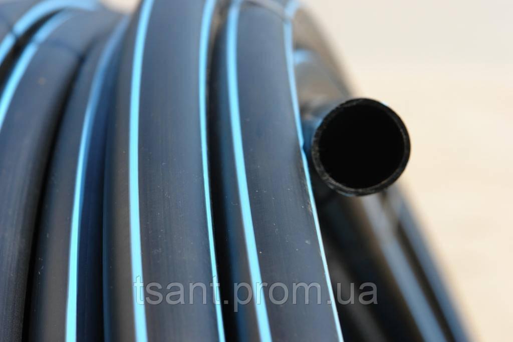Труба полиэтиленовая Valrom для воды ПЭ100 SDR11 PN16 D=50 x 4,6мм (Валром) - TopSanShop в Мукачево