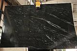 Nevada Black (Бразилия) Плита 30 мм, фото 2