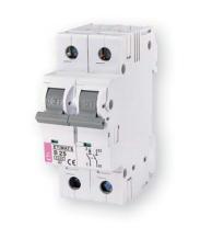 Автоматческий выключатель ETIMAT 6  2p C 1,6A