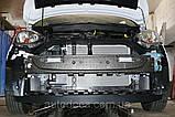 Декоративно-защитная сетка радиатора Ford B-MAX бампер, фото 3
