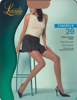 Колготки LEVANTE ENERGY 20 ден (черный, натуральный, серо-коричневый) (2; 3; 4)