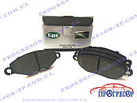 Колодки тормозные передние Peugeot 206, 306 / LPR (Италия) / 05P708