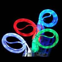 Светящийся кабель USB к iPhone 5 5S 6 LED