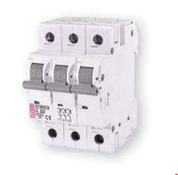 Автоматческий выключатель  ETIMAT 6  3p C 4A
