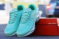 Женские кроссовки  Nike 95 TN, текстиль, цвет мята/ кроссовки для зала женские Найк 95 ТН, модные