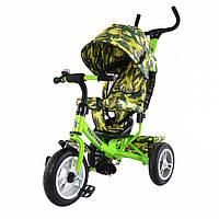 Велосипед трехколесный TILLY Trike T-351-8 Green