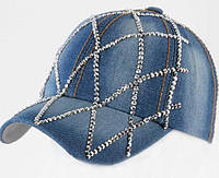 Джинсовая женская кепка 001
