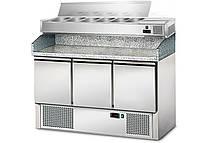 Холодильный стол для пиццы салат-бар GGM POG147ND#AGG143END, фото 1