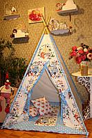 """Детский игровой домик, вигвам, палатка, шатер, шалаш """"Лиса на пикнике"""", фото 1"""