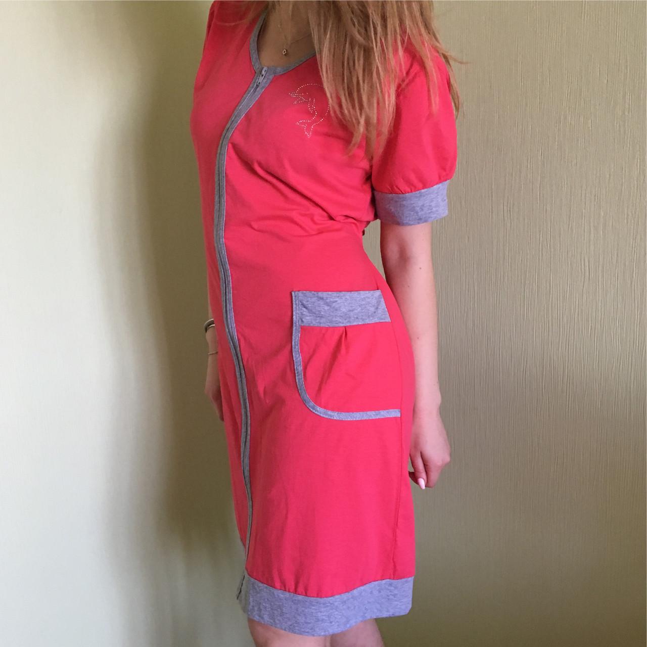 aae9972feafb Халат женский трикотажный легкий летний, Турция - Модные вещи оптом и в  розницу