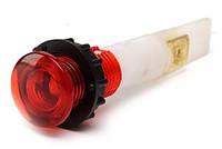Арматура сигнальная 10мм с зажимами MS 6.3х0.8мм; неоновая лампа 220В S102K красная