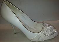 Туфли женские белые р37 CAMIDY 975-47 SADI