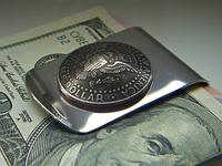 """Зажим для денег """"HALF DOLLAR"""" (50 cents)"""
