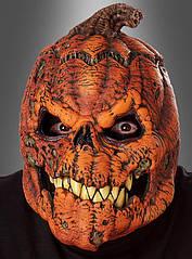 Устрашающая маска на Хэллоуин в виде тыквы