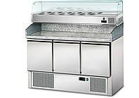 Холодильный стол для пиццы салат-бар GGM SKU# POS147#AGS143