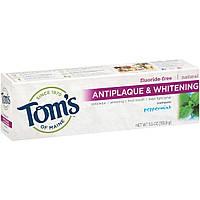 Зубная паста Tom's of Maine - Удаление налета + отбеливание со вкусом мяты (США)