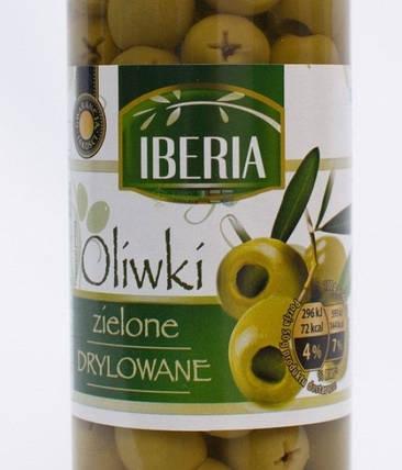 Оливки без кісточок Iberia 330гр., фото 2
