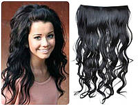 Волосы на заколках затылочная прядь волна  №1в