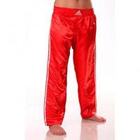 Брюки для кикбоксинга Adidas Contact Pant Climacool (Красные)