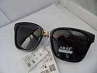 Солнцезащитные очки Aras Polarized черные линзы