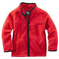 Флисовый реглан Oshkosh для мальчика Красный, Размер 2T, Размер 2T