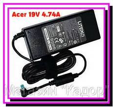 Блок питания для ноутбука Acer 19V 4.74A + КАБЕЛЬ!Опт