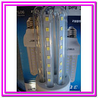 Лампочка LED LAMP E27 5W Длинная 4017!Опт