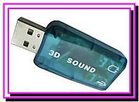 Звуковая карта USB 5.1 3D sound!Опт