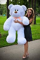 """Плюшевый Мишка """"Бублик (160 см)"""" Белый"""