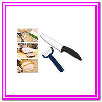 Керамический нож и овощечистка Ceramic Knife!Опт