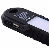 Солнечное зарядное устройство Power Bank 10800 mAh со Светодиодной подсветкой!Опт