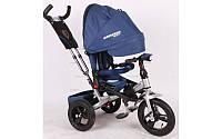 Детский трехколесный велосипед коляска Crosser T-400 EVA