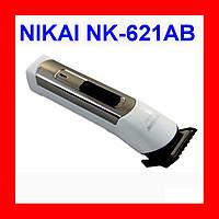 Машинка для стрижки волос NIKAI NK-621AB + аккумулятор!Опт