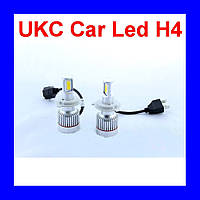 Led лампы для автомобиля UKC Car Led H4 c цоколем 33W 4500-5000K 3000LM CAR LED headlight!Опт