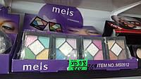 Тени Meis - Летние цвета - набор 5 оттенков