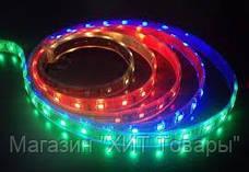 Лента разноцветная светодиодная 300 SMD5050 RGB 5 метров в Силиконе!Опт, фото 3