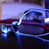Светящиеся вакуумные наушники AT-618LED, Iglo Pulse!Опт, фото 3