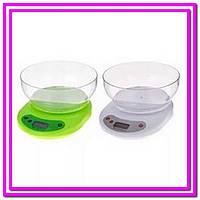 Кухонные весы с чашей ACS KE1 до 5kg!Опт