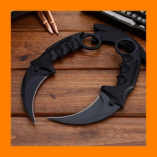 Нож Csgo cs go Керамбит коготь черной ночи обороны. Нож боевой.!Опт